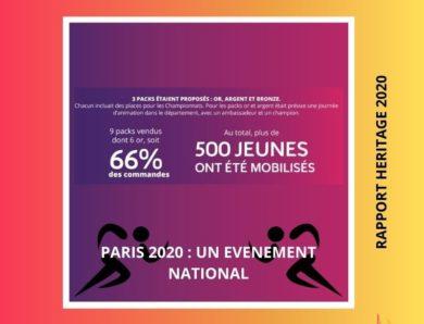 HERITAGE Paris 2020 : un événement national